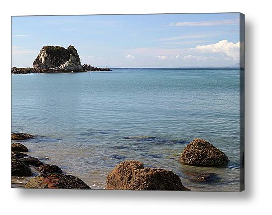 Nature Stress Relief - Mangawhai Heads Beach Canvas Print