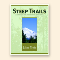 Nature Stress Relief - Steep Trails by John Muir - Book Cover