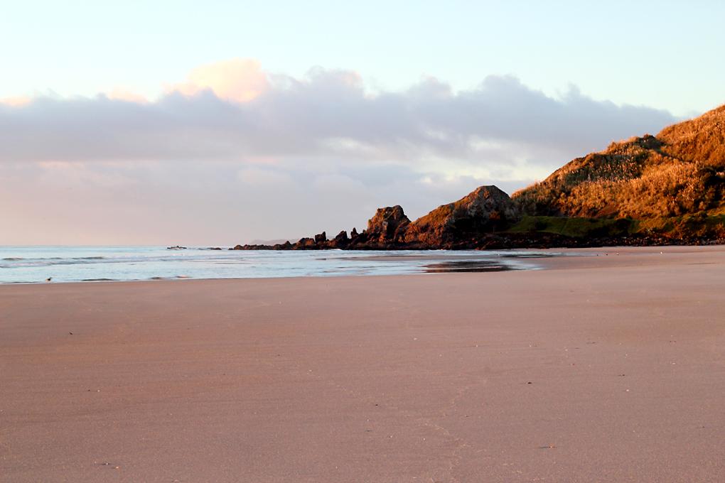 Sunrise at Te Arai
